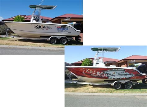 boat wraps wa before after boat graphics fishing fishwrecked