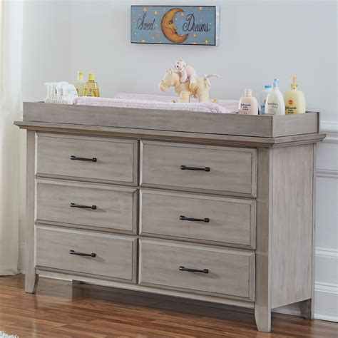 7 drawer dresser hton gray soho baby