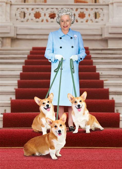 queen elizabeth corgis queen elizabeth with her corgis a famous people and pets
