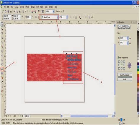 cara membuat spanduk dengan coreldraw desain corel draw blog tempat berbagi informasi latihan 4 cara membuat