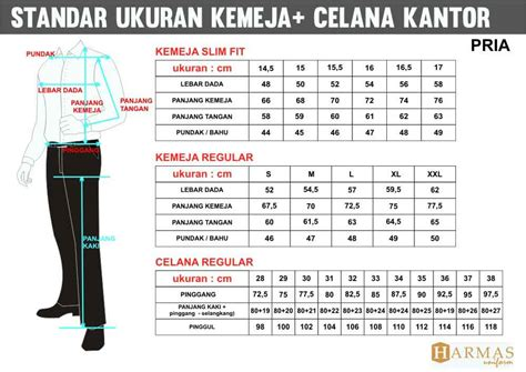 Wearpack Mita standar ukuran konveksi seragam kantor pakaian kerja