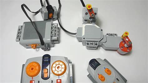 m and l motors lego power functions ir receiver controlling ev3 l motor