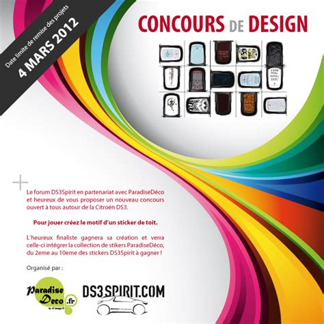 design contest forum citroen forum nl ds3spirit design competition