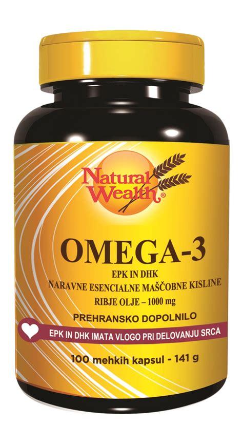 Omega 3 Omegacor Natures Health Omega 3 Epa Dha Tertinggi 1 epa omega 3 wealth 100 kapsul prehran dopolnila sanolabor