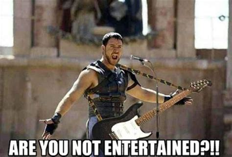 are you not entertained 26 funny movie moments and mash ups kill the hydra