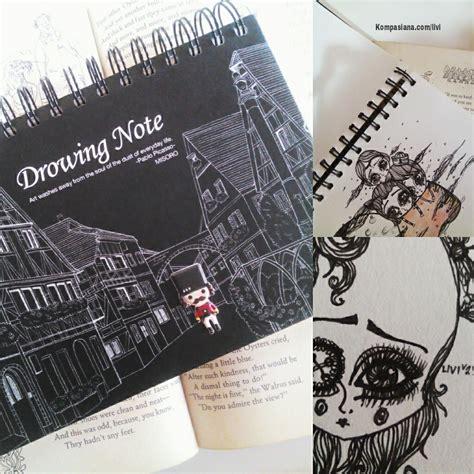 sketchbook ukuran a5 doodle oleh livia halim kompasiana