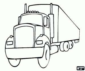 tank trailer coloring page coloring pages
