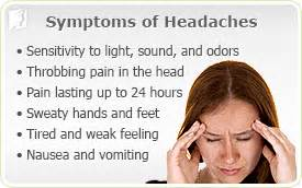headaches symptom information 34 menopause symptoms
