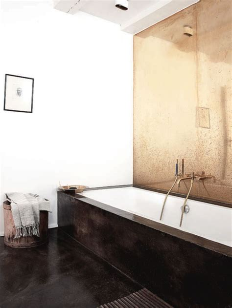 gold bathroom walls bathroom interiors tao of sophia