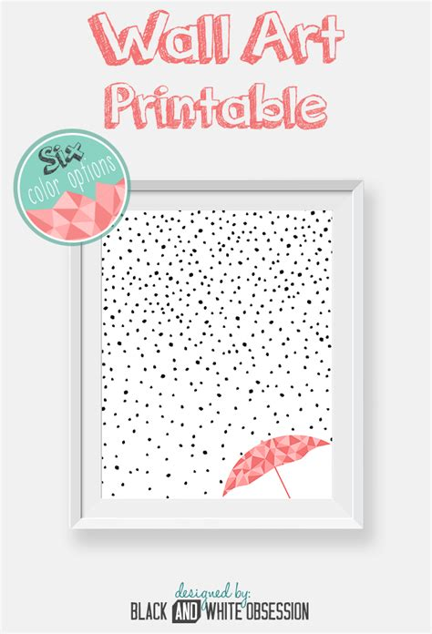 free printable wall art pictures free printable rain and snow wall art