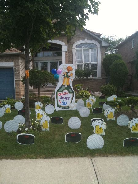 Yard Decorations For Birthday by Lawn Decorations