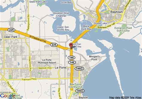 la porte texas map map of la quinta inn houston la porte la porte