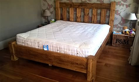rustic plank gate slatted bed