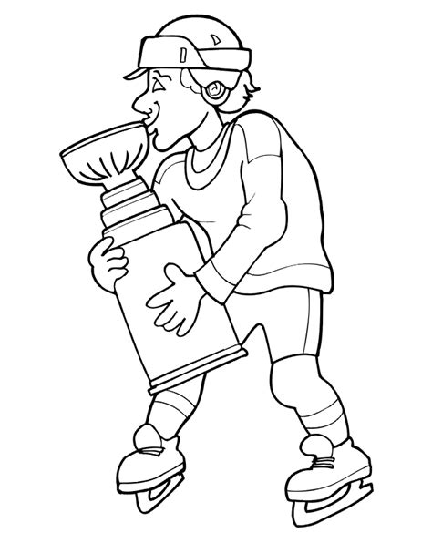 hockey coloring pages pdf stanley cup hockey coloring pages color printing sonic