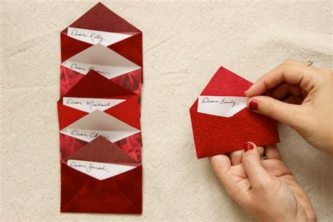 9 Unique Places To Hide A Letter by Diy Tutorial Letter Dinner Placecards