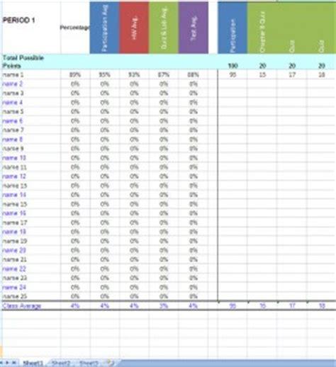 Teacher Grade Book Excel Template Teacher Gradebook Excel Gradebook Template