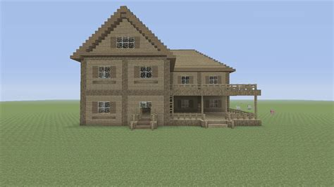easy house in minecraft minecraft tutorial easy house tutorial 4 youtube
