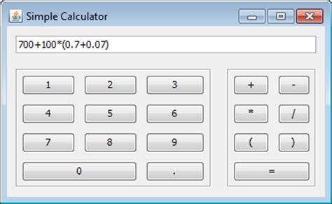 calculator java app calculator in java including ui ethical hacking