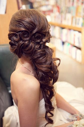 bridal hairstyles down to the side hair and make up by steph how to choose your wedding