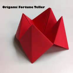 Folding A Fortune Teller Paper - 18 best photos of easy paper folding easy fish origami