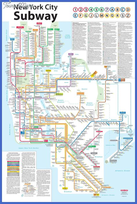 subway map in new york new york subway map toursmaps