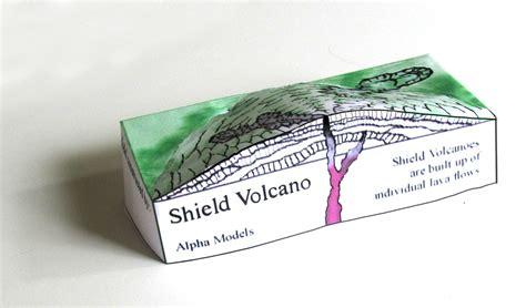 Volcano Papercraft - alphalandforms