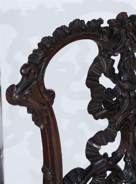 single 19th century chinese chippendale side chair at 1stdibs single 19th century chinese chippendale side chair image 6