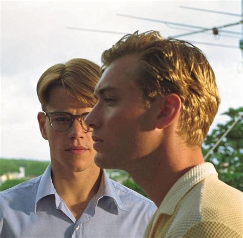 talented mr ripley matt damon 17 best images about jude on the jude