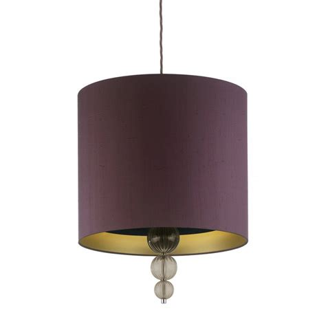 Purple Ceiling Light Shades Purple Hanging Ceiling Light Shade Smoked Glass Droplets