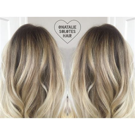 root hair color shadow root rooted bronde seamless lived in