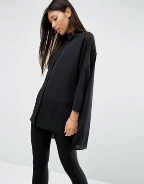 Asos Swing Top In Crinkle shirts s shirts blouses asos