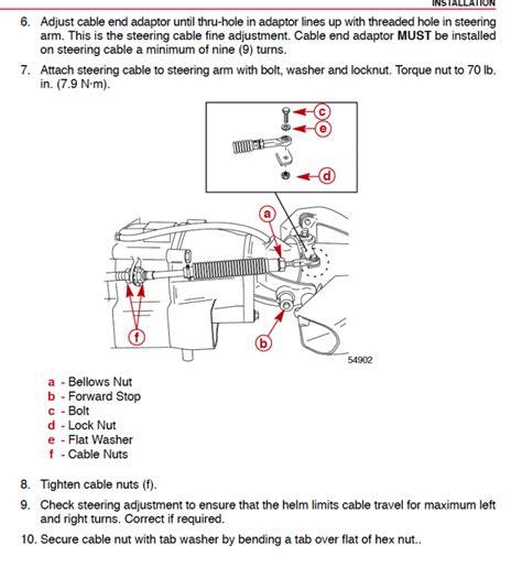 boat steering wheel is stiff stiff steering 14 1800 2000 x challenger