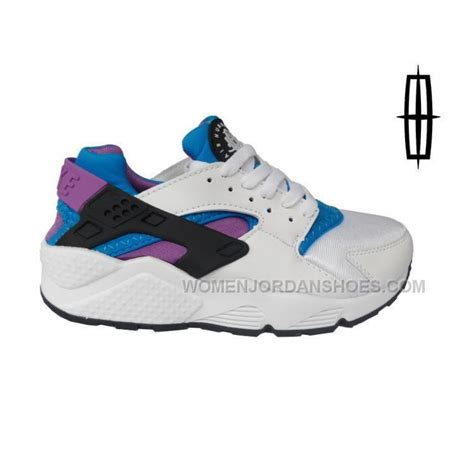 air shoes 2015 nike air huarache womens white blue purple running