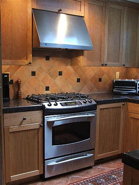 Ceramic Tile Kitchen Backsplash Mexican Saltillo Tiles Backsplash 8x8 Saltillo Tile In Terra Cotta Floor Tile Installed