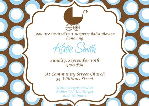 Baby Invitations by Free Baby Boy Shower Invitations Templates Baby Boy