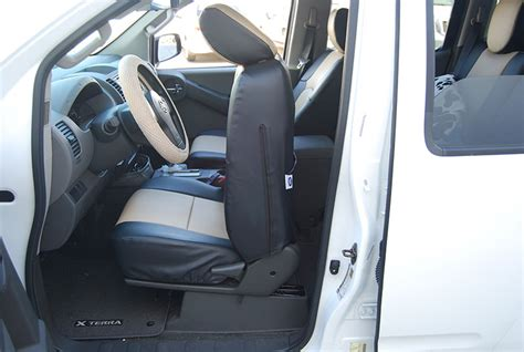 nissan leaf seat covers 2012 nissan xterra 2012 2014 s leather custom fit seat cover ebay