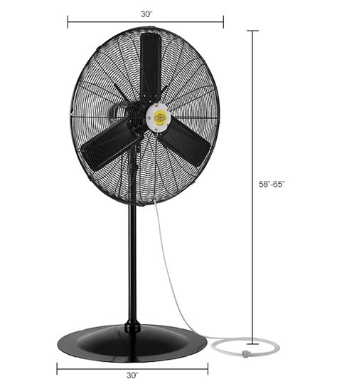outdoor oscillating pedestal fan evaporative coolers sw coolers misting fans 30