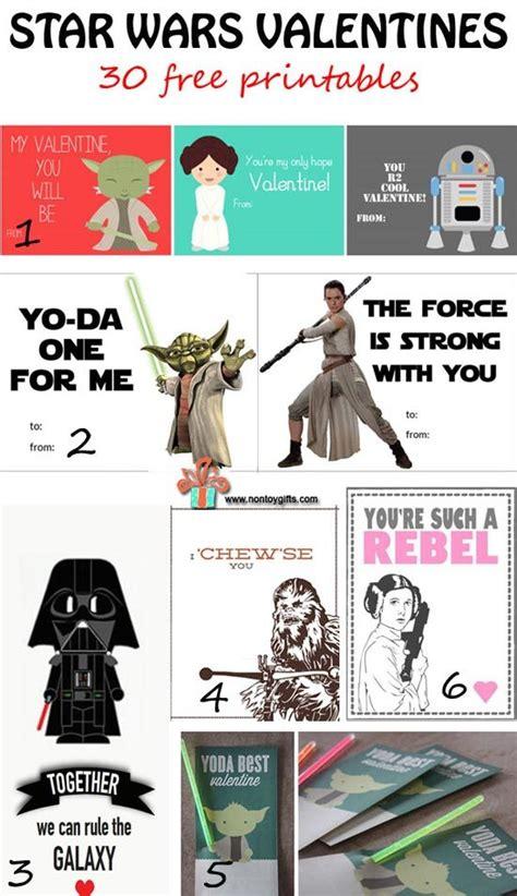 printable star wars valentines cards 30 free star wars valentines to print indie crafts