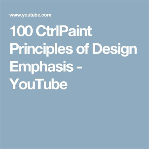 design elements and principles youtube 659 best images about elements principles on pinterest