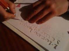 How To Make Stencils Without Carbon Paper - 1000 images about stencils on how to make