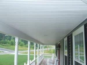 Certainteed Beadboard - using vinyl beadboard soffit for porch ceilings