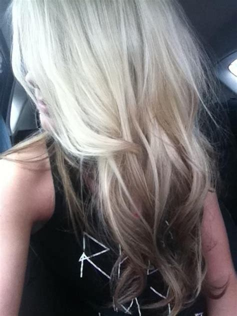 reverse ombrepics 241 best images about long blonde hair on pinterest her