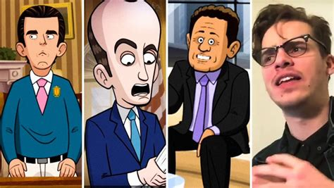 jeff sessions cartoon president our cartoon president cast meet the voice actors