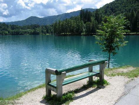 bench at the bay lake bled velika zaka photos