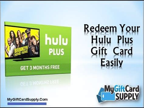 Buy Hulu Gift Card - popular tv series gift cards and tvs on pinterest