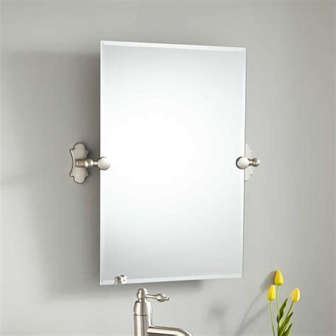 tilt mirror bathroom 24 quot seattle rectangular tilting mirror bathroom