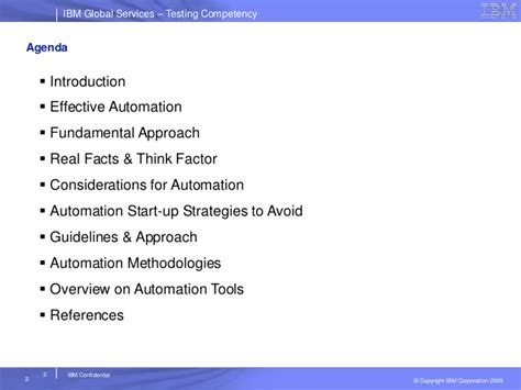 automation testing strategy approach planning