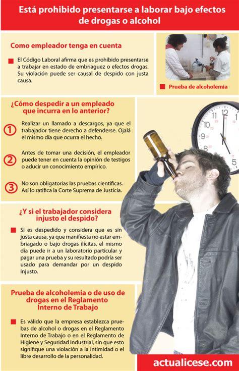 investigacin contable y tributaria en profundidad infograf 237 a laborar bajo los efectos de drogas o alcohol