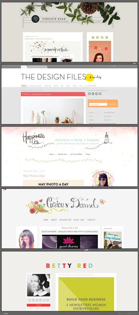 blog theme headers 13 best most beautiful wordpress themes images on