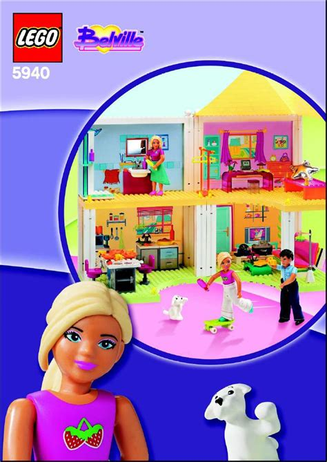 a doll s house pdf lego doll s house instructions 5940 belville